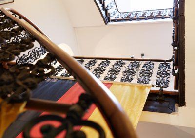 Treppenhaus aus dem Erdgeschoss