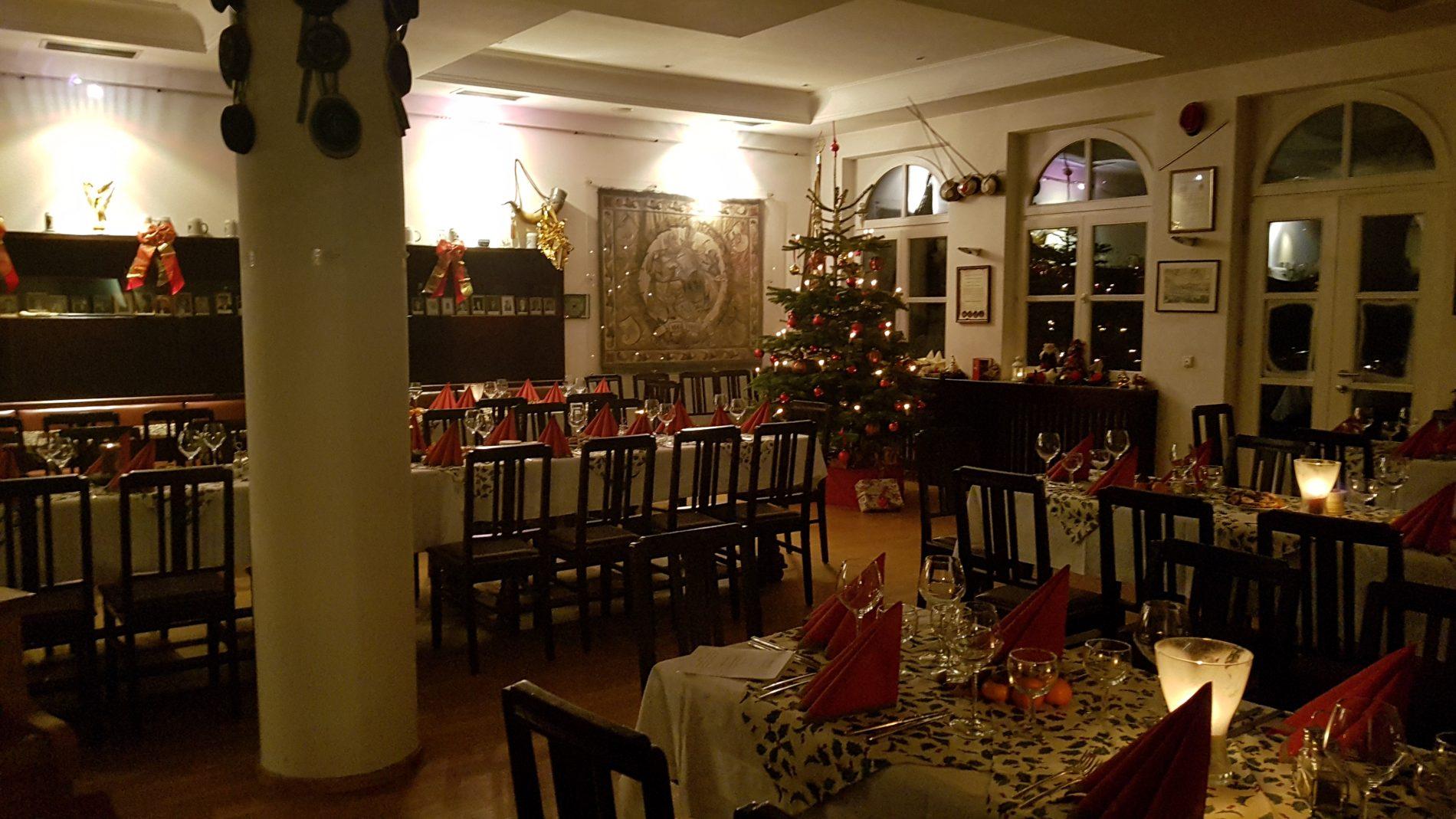 Weihnachtsfeier Studentenverbindung Burschenschaft Franco-Bavaria